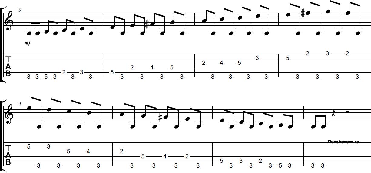 развитие пальцев на гитаре