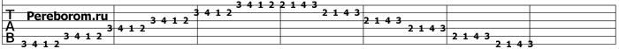 упражнения для гитары 6