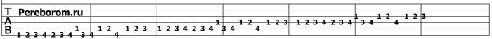 упражнения для гитары 8