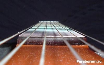 настройка грифа гитары