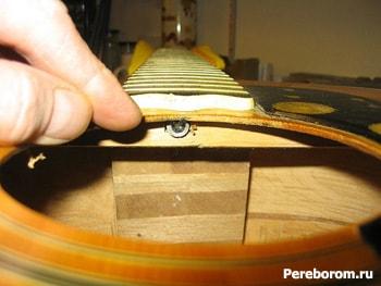 регулировка грифа гитары