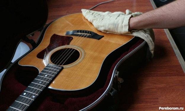 Полировка гитары 1