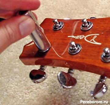 Уход за фурнитурой гитары 2