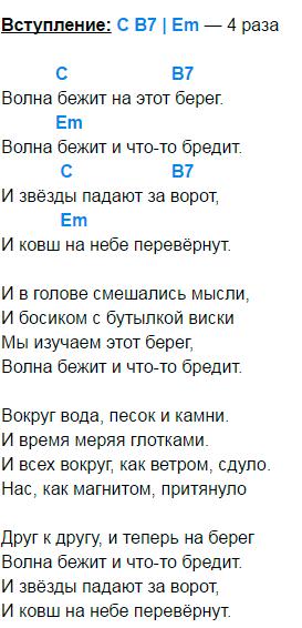 сплин танцуй аккорды 1