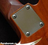 Болченый гриф гитары