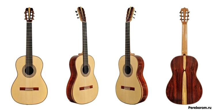 Гитара с широким грифом