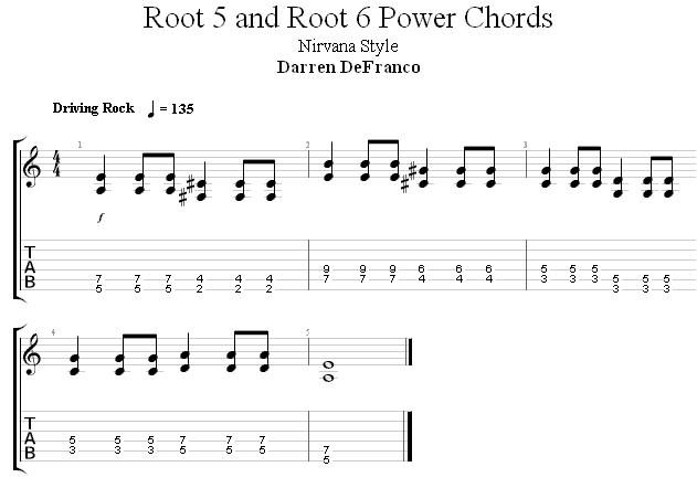 Квинт аккорды упражнение 2