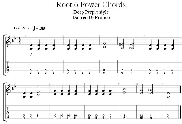 Квинт аккорды упражнение 3