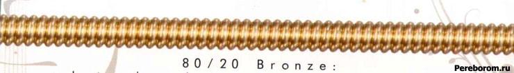 бронзовые струны