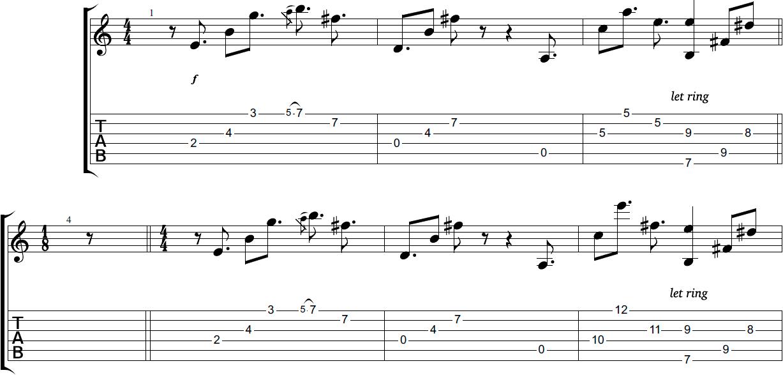 эта песня простая разбор на гитаре