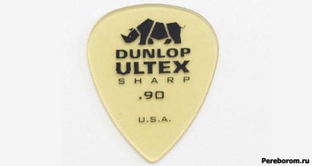 Dunlop Ultem-Ultex Picks (Ultem - инновационный сверх прочный пластик Полиэфиримид)
