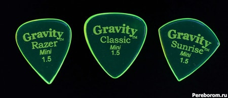 Gravity Picks (Acrylic) - Акрил