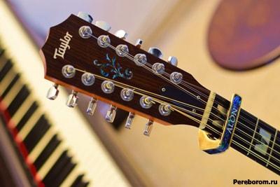 Каподастр для двенадцатиструнной гитары