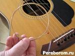звук акустической гитары