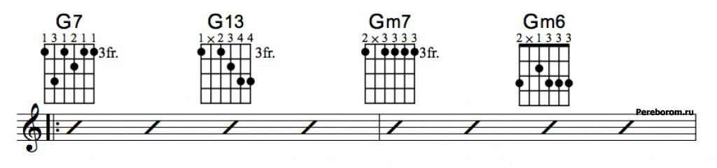 Джазовые аккорды 3_1