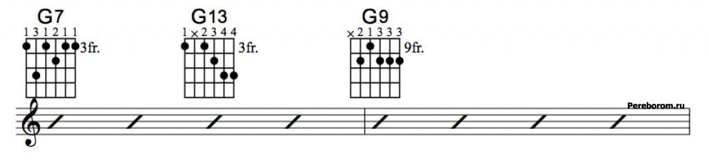 Джазовые аккорды 3_2
