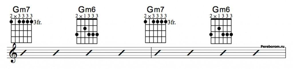Джазовые аккорды 3_3