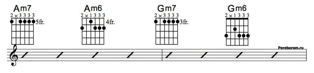 Джазовые аккорды 3_5