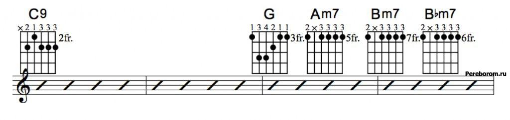 Джазовые аккорды 5_2