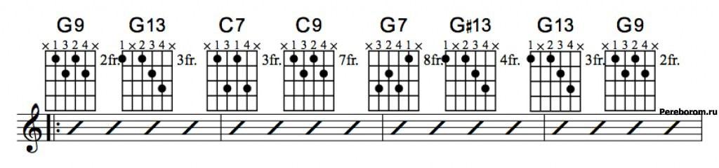 Джазовые аккорды 6_1