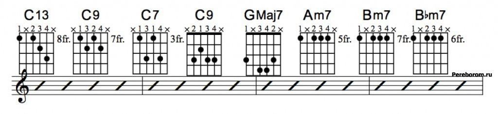 Джазовые аккорды 6_2