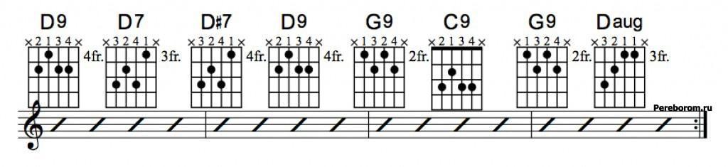 Джазовые аккорды 6_3
