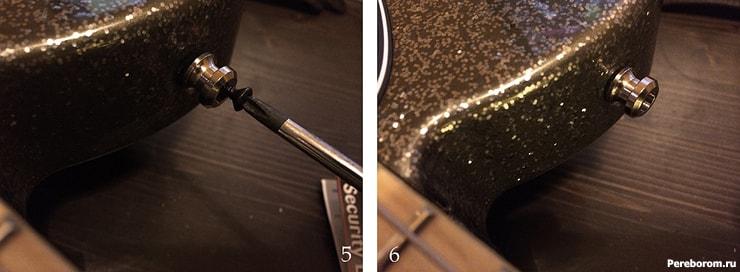Как поставить стреплоки на электрогитару 2