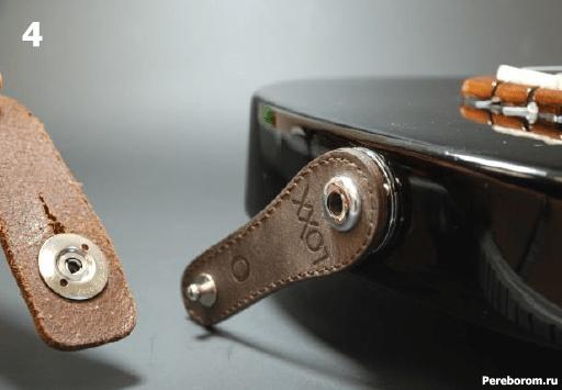Установка Умного стреплока LOXX адаптера на электрогитару 1_4