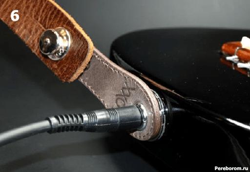 Установка Умного стреплока LOXX адаптера на электрогитару 1_6