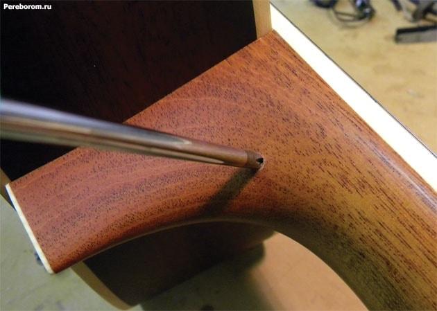 Установка стреплоков на акустическую гитару 6