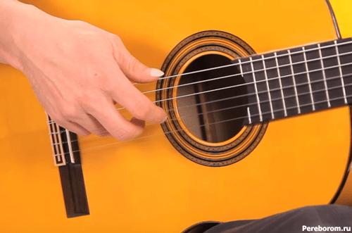 фламенко на гитаре - арпеджио