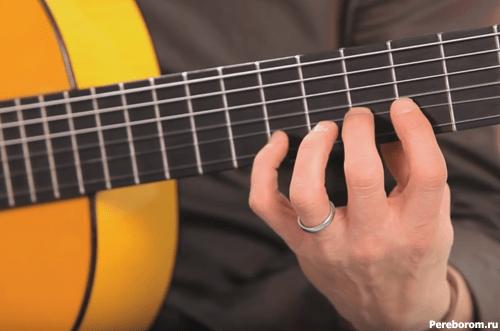 фламенко на гитаре - легато