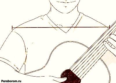 как держать акустическую гитару
