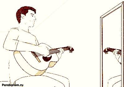 как правильно держать гитару правше