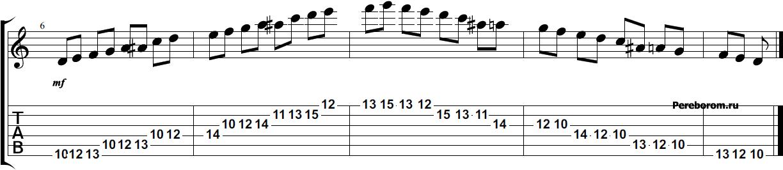 как играть гамму фа мажор