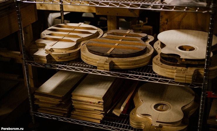 Материалы для изготовления гитары