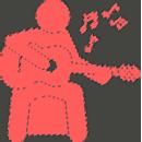 сложные мелодии на гитаре
