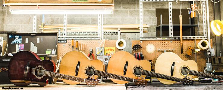 из какого дерева лучше гитара