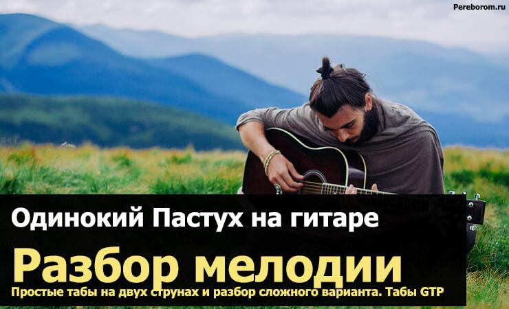 одинокий пастух на гитаре