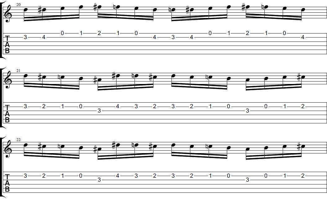 полет шмеля на гитаре