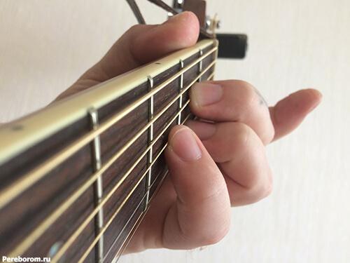 глушение струн