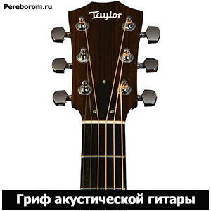 отличие акустической гитары от классической