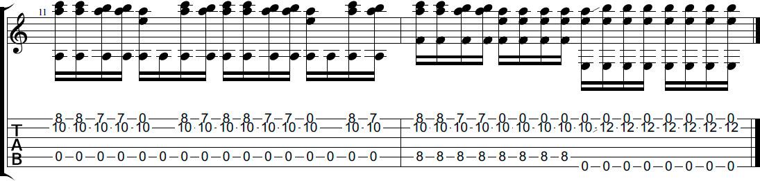 реквием по мечте табы для гитары