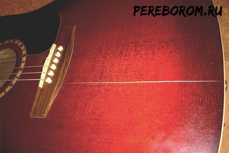 ремонт гитары своими руками