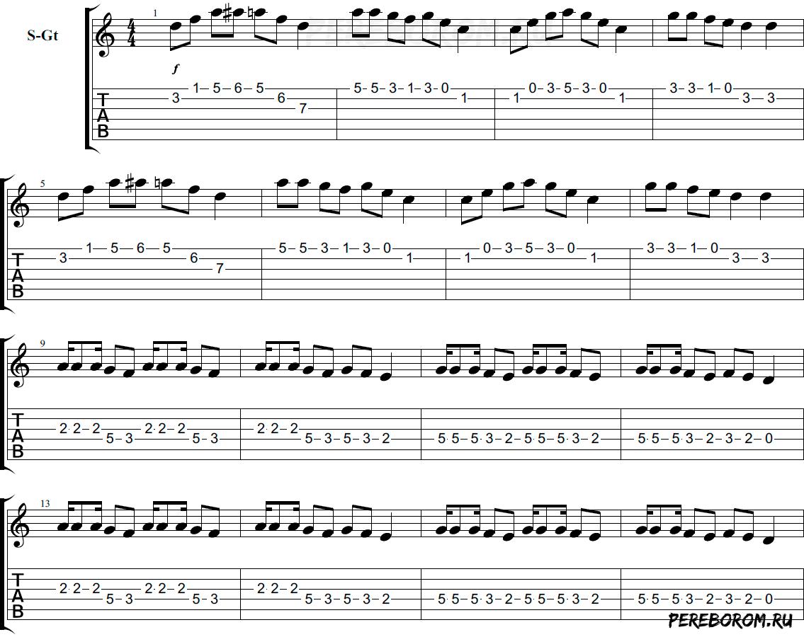 лезгинка на гитаре