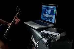 как записать гитару на компьютер